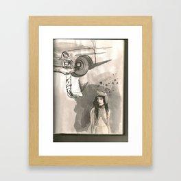 The Last '55 Chevy in Egypt Framed Art Print