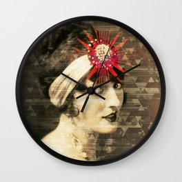 Flapper Geometry Wall Clock