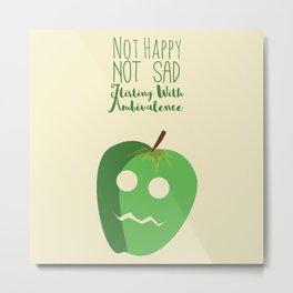 Feeling Fruity Metal Print