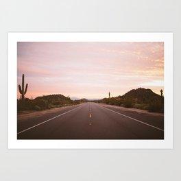 Take the Long Way Home Art Print