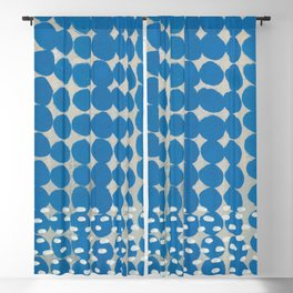 Dot and Dash Blackout Curtain