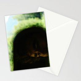 Living Through the Rear View Stationery Cards