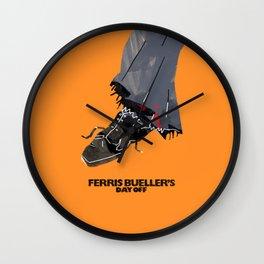 Ferris Bueller's Day Off Wall Clock