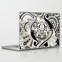 maori Laptop & iPad Skins featuring Maori tribal design by Noah's ART