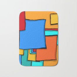 Cargo Ship Containers 11 Bath Mat
