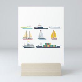 National Maritime Day Mini Art Print