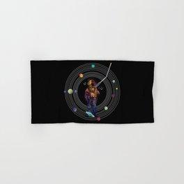 Musical Solar System Hand & Bath Towel