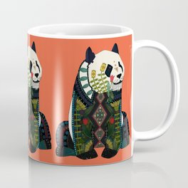 panda orange Coffee Mug