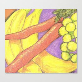 Passion Food Canvas Print