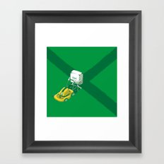 Ctrl-X Framed Art Print