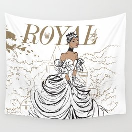 Lilly Royal Wall Tapestry