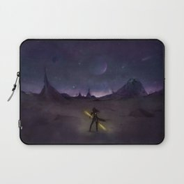 Under the Light from Distant Worlds Laptop Sleeve