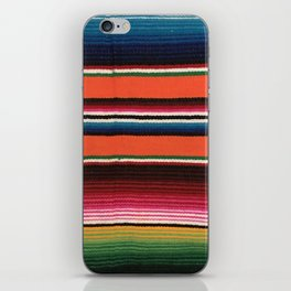BEAUTIFUL MEXICAN SERAPE iPhone Skin