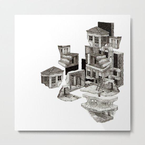 house fragment Metal Print