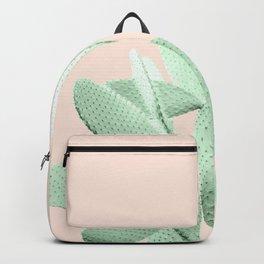 Green Blush Cactus #1 #plant #decor #art #society6 Backpack