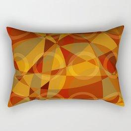 Círculos cálidos · Glojag Rectangular Pillow