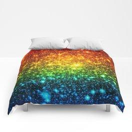 RainBoW Sparkle Stars Comforters