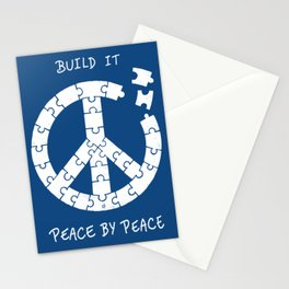 Peace By Peace Stationery Cards