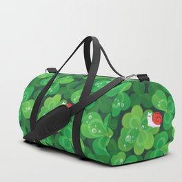 Happy lucky snail Duffle Bag