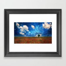 The Magical Night-Day Realm Framed Art Print