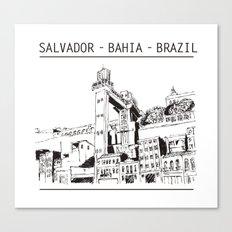 Salvador - Bahia - Brazil Canvas Print