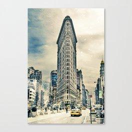 Flatron Building - New York City Canvas Print