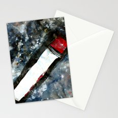 Red matchstick Stationery Cards