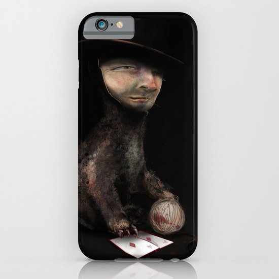 Charles the cat iPhone & iPod Case