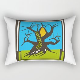 Tree Of Knowledge Rectangular Pillow