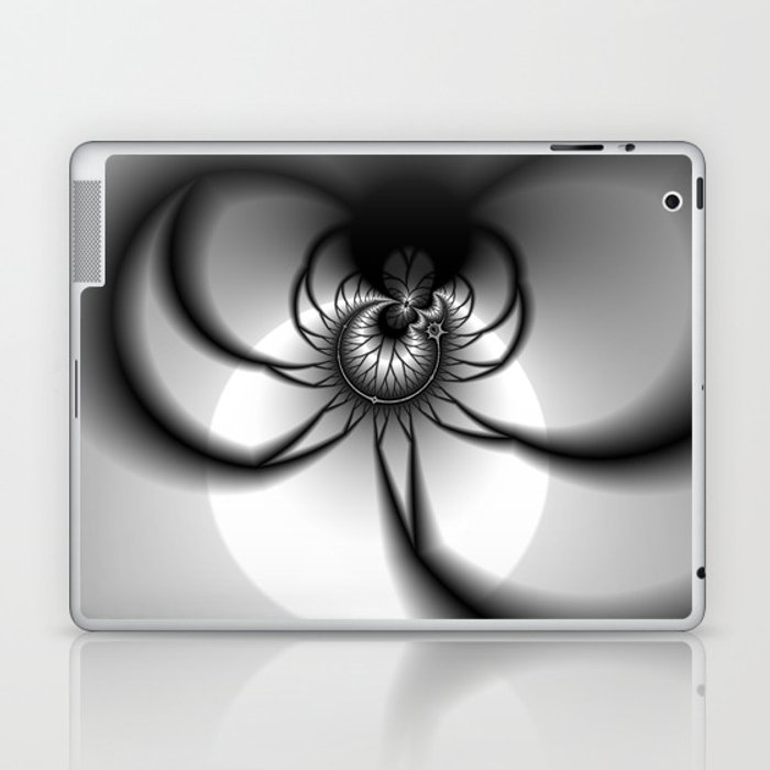 The Darkness Comes Laptop & iPad Skin