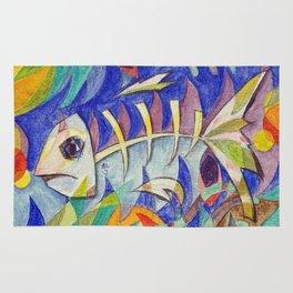 Swim Fishy Swim Rug