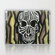 Skull Fiber Laptop & iPad Skin