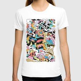 Electric Cliffs T-shirt