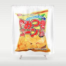 Corn Snacks SuperMarket Shower Curtain
