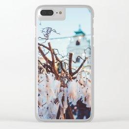 Dreamcatcher Love. Clear iPhone Case