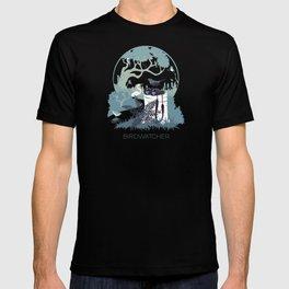 Birdwatcher (blues) T-shirt