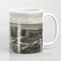 melbourne Mugs featuring Melbourne City by Ewan Arnolda