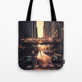 Chicago City Tote Bag