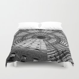 To The Point Duvet Cover