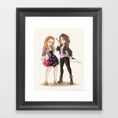 Teen Wolf Ladies Framed Art Print