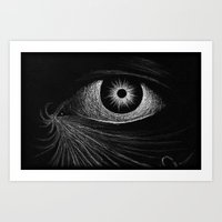 """The Eye of Two Suns."" Art Print"