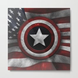 CAPTAINAMERICA Metal Print