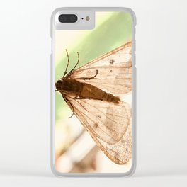 Fall Time Friends Clear iPhone Case