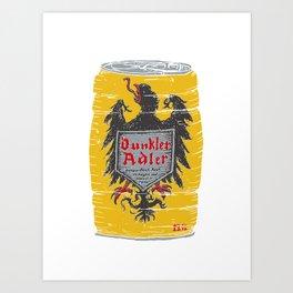 Dunkler Adle Art Print