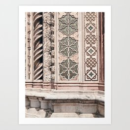 Tiles / Orvieto, Italy Art Print