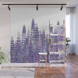 Just Lupine Wall Mural