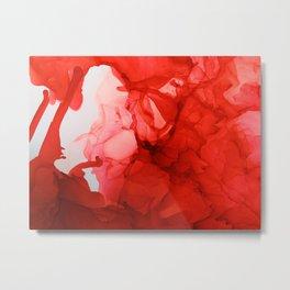 Scarlet blast Metal Print