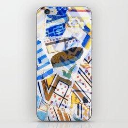Mosaic of Barcelona iPhone Skin