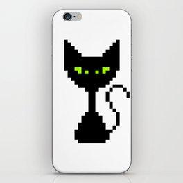 El Gato Negro iPhone Skin