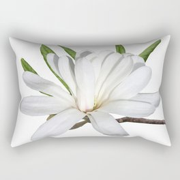 The Flower is the Star (Magnolia) Rectangular Pillow